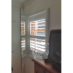 Euro Double Glazing: Double Glazed Shuttered Windows Open
