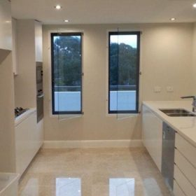 Euro Double Glazing modern kitchen