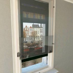 Euro Glazing double-glazed tinted folding glass - lower section open Fresh air - easy