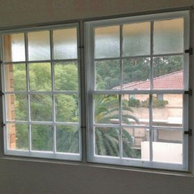 Euro Glazing double-glazed double hung unit windows