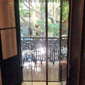 Euro Glazing double-glazed french doors surry hills - open