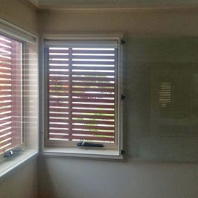 Euro Glazing double-glazed windows with blinds mounted inside the cavity