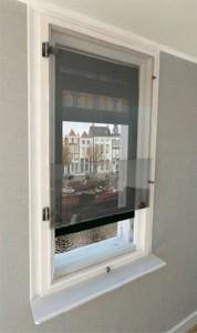 Euro Double Glazing: Tinted Bottom Open