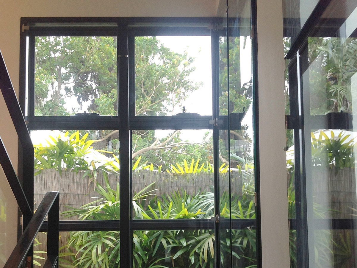 Euro Double Glazing: Woollahra Stairwell